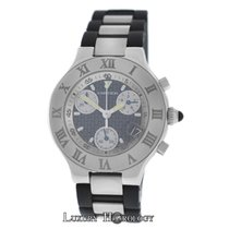 Cartier Men's  Must 21 Chronoscaph Ref.242 4 Chronograph Date