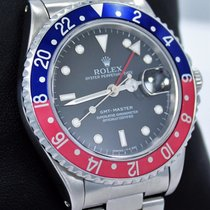 Rolex Gmt Master Pepsi 16700 Blue/red 40mm Steel Oyster Rare...