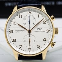 IWC IW371402 Portuguese Chronograph 18K Rose Gold / Silver...