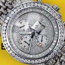 Breitling Super Avenger A13370 Full Diamond Dial Diamond...