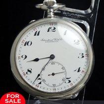 IWC Wunderschöne IWC Taschenuhr in 925er Silber