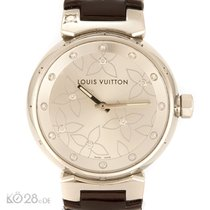 Louis Vuitton Tambour Q131F2 Diamond ø 33,5 mm Box + Papiere...