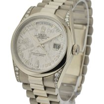 Rolex Used 118339meterorite Mens President with President...
