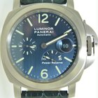 Panerai PAM 93 Luminor Marina Power Reserve Blue Dial Titanium
