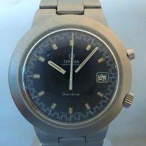 Omega vintage Chronostop jumbo blue dial mechanichal RARE for...