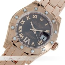 Rolex Lady-Datejust Pearlmaster Rosegold 80315