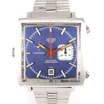 "TAG Heuer Monaco ""Mc Queen"" 1533 Blue dial"