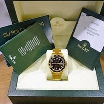 Rolex Gmt Master II Yellow Gold (NOS) Box&Papers