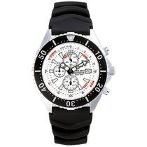 Chris Benz Uhr Taucheruhr Depthmeter Chronograph CB-C300-W-KBS