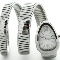 Bulgari Serpenti Silver Guilloche Two Twirl