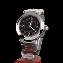 Cartier pasha steel automatic medium size