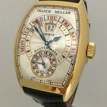 Franck Muller Master Date Mens 18K Yellow Gold Watch Just...