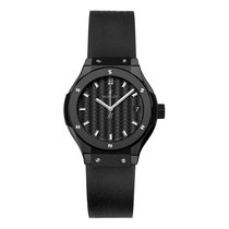 Hublot Classic Fusion 33mm Quartz Ceramic Mens Watch Ref...