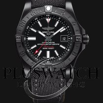 Breitling Avenger II GMT Nero NUOVO - NEW 	M3239010/BF04/109W T