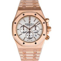 Audemars Piguet AP Royal Oak Chronograph 41 Rose Gold Watch