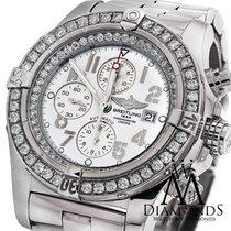 ブライトリング (Breitling) Super Avenger A13370 White Dial Diamond...