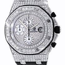 Audemars Piguet Royal Oak Offshore Chronograph Diamonds. Video...