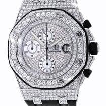 Audemars Piguet Royal Oak Offshore Chronograph Diamonds. Video...