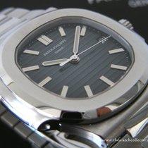 "Patek Philippe : Rare Nautilus Jumbo Stainless Steel ""Ref...."