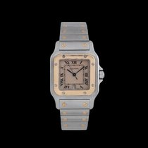 Cartier Santos Stainless Steel and Gold