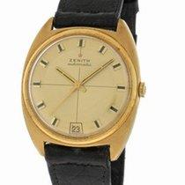 Zenith 18K Gold Automatic Watch - Cushion-Shaped Case