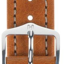 Hirsch Uhrenarmband Leder Buffalo goldbraun L 11320275-2-20 20mm