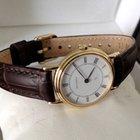 Bucherer Golden Lady Watch White Roman Dial 28 mm (18 krt)