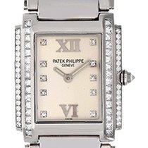 Patek Philippe Ladies  Twenty-4 Diamond & 18k White Gold...