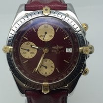 Breitling CHRONOMAT STEEL/GOLD VERY RARE RED DIAL