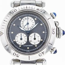 Cartier Pasha 35mm Chronograph Stainless Steel Watch For Women...