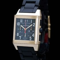 Jaeger-LeCoultre Squadra Reverso Chrono GMT18K Rose Gold Ltd...