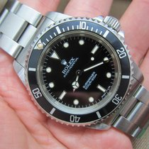 Rolex Submariner 14060   Crisp and Creamy   Papers + Tag