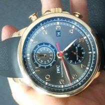 IWC Portuguese Yacht Club Chronograph Rose Gold