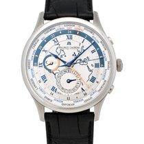 Maurice Lacroix Masterpiece Worldtimer GMT Men's Watch –...