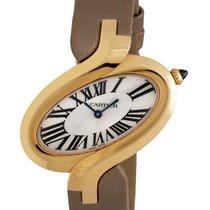 Cartier Delices Medium Quartz Rose Gold Ladies Watch – W8100011