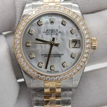 Rolex Datejust 31 diamond bezel 178383