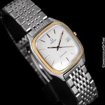 Omega 1985 Seamaster Brest Vintage Mens Retro Quartz Watch -...