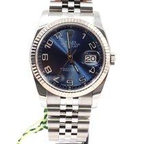 Rolex Datejust Perpetual Blue Arabic Dial Jubilee Strap 36 mm