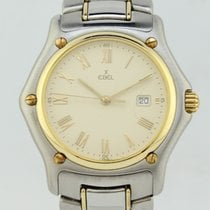Ebel 1911 Quartz Steel-Gold 74600802