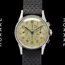 "Wittnauer Chronograph ""Snail Dial"" Rare, Valjoux 22"