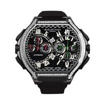 DeLaCour Bichrono S3 Rafaga Titanium Diamond Bezel
