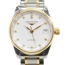 Longines Master 18k Gold Steel Silver Automatic L2.128.5.77.7