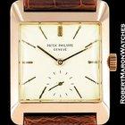 Patek Philippe Vintage Oversized 1940's 18k Rose Gold Square 2488