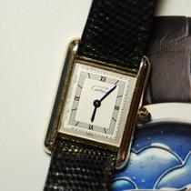 까르띠에 (Cartier) 925 Silver Ladies Quartz (near Mint)
