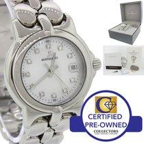 Bertolucci Pulchra Steel Diamond MOP 26mm Quartz Watch