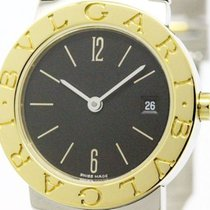 Bulgari Polished  - 18k Gold Steel Ladies Watch Bb26sg (bf100374)