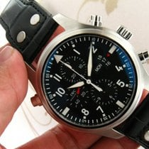 IWC IW377801 Pilot's Watch Double Chronograph Men Watch...