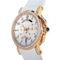 Breguet Marine Chronograph Ladies , 18k Rose Gold, Diamonds.