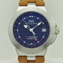 Enigma by Gianni Bulgari GMT Automatic Steel 338.34.1