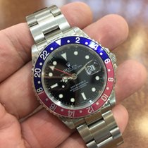 Rolex GMT-Master II Red/Blue Pepsi Bezel Dial F Serial